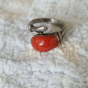 Jewelry - Carnelian or Jasper Sterling Ring